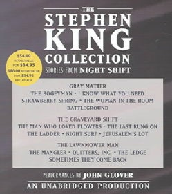 The Stephen King Collection: Stories From Night Shift: Gray Matter / The Graveyard Shift / The Lawnmower Man (CD-Audio)