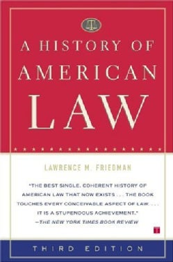 A History Of American Law (Paperback)