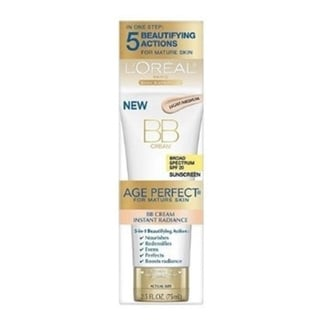 L'Oreal Paris Age Perfect Instant Radiance 2.5-ounce BB Cream (Pack of 4)