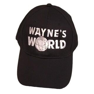 Wayne's World Hat Wayne Campbell Mike Myers 2 SNL Baseball Cap Costume