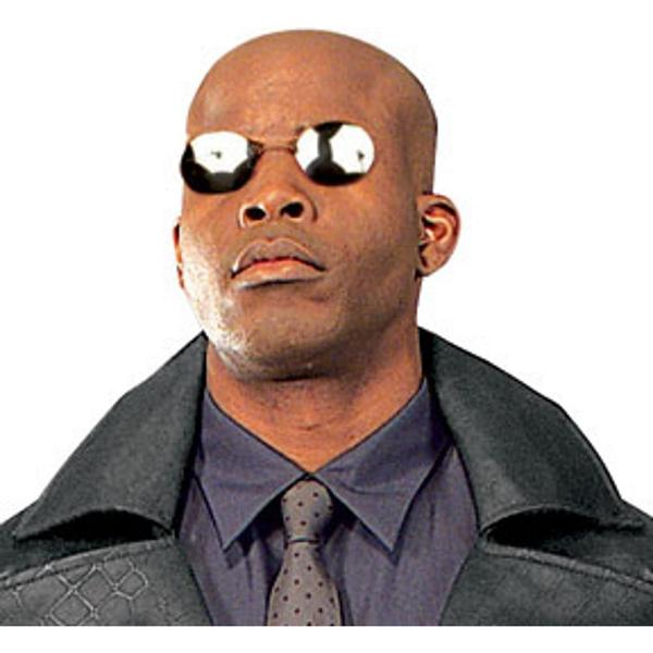 Morpheus The Matrix Laurence Fishburne Costume Sunglasses