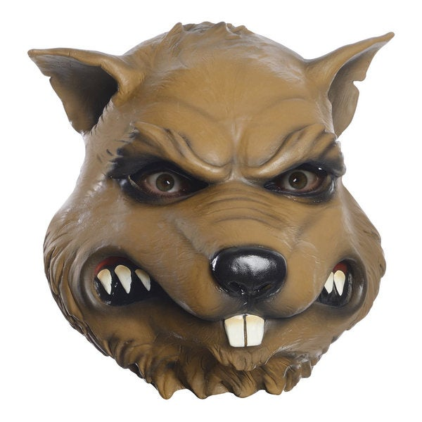 Splinter Teenage Mutant Ninja Turtles TMNT Wise Rat Head Mask