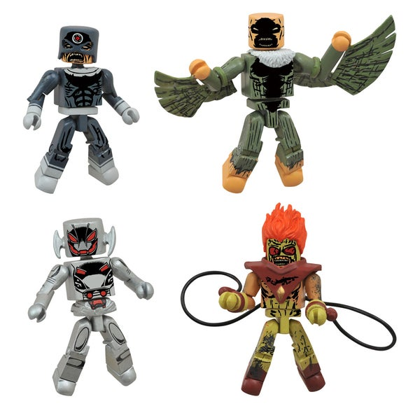 Diamond Select Toys Marvel Minimates Age Of Ultron Zombie Box Set