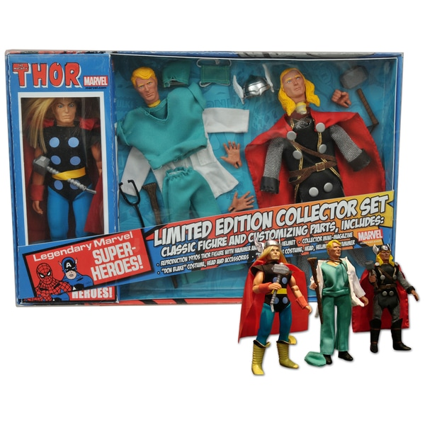 Diamond Select Toys Marvel Thor 8in Retro Action Figure Set