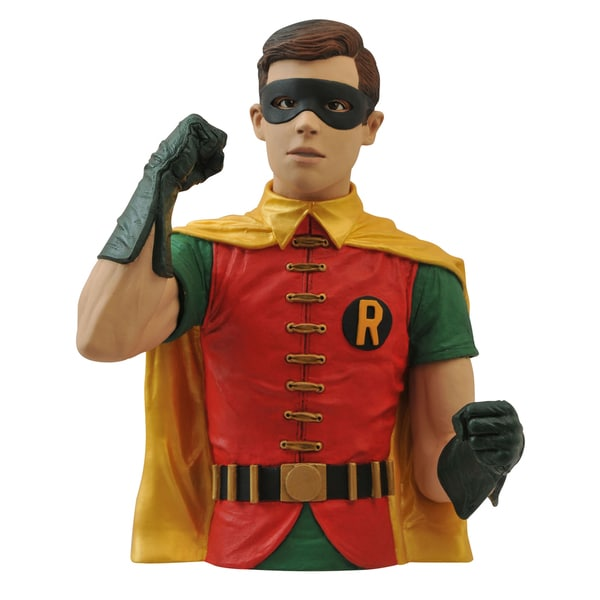 Diamond Select Toys Batman 1966 Robin Bust Bank 17431499