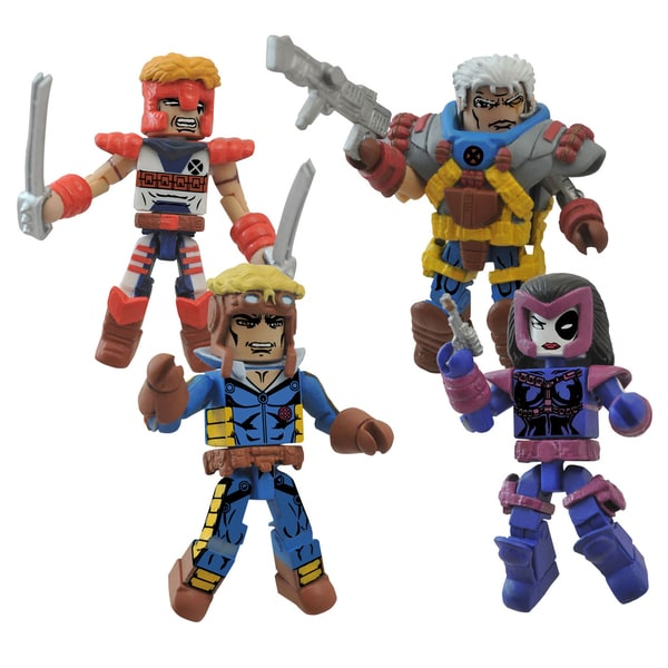 Diamond Select Toys Marvel Minimates Classic X-Force Box Set 17431511