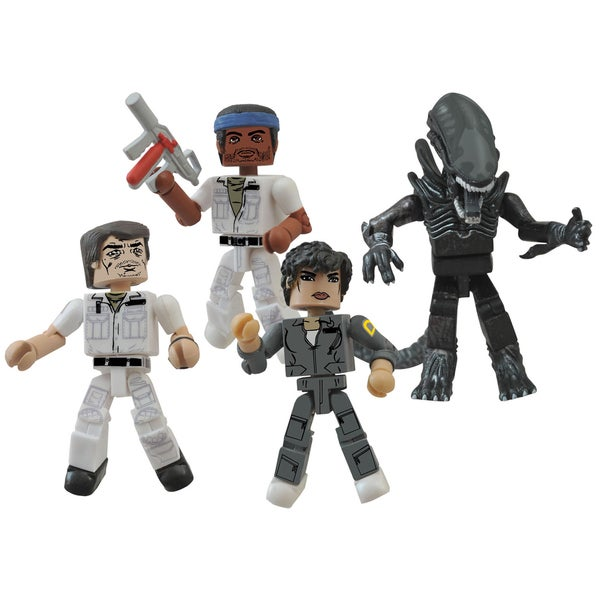 Diamond Select Toys Alien Minimates 35Th Anniversary Box Set