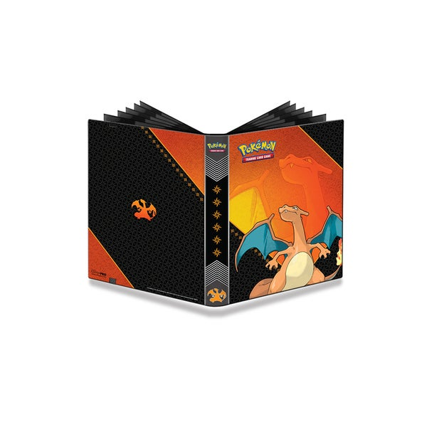 9-Pocket Pokemon Full-View Pro Binder: Charizard