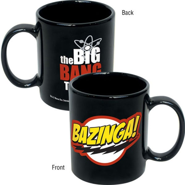 The Big Bang Theory Bazinga Sheldon Cooper Ceramic 12-ounce Coffee Mug