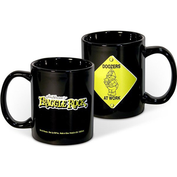 Doozers At Work Fraggle Rock Jim Henson Coffee Mug
