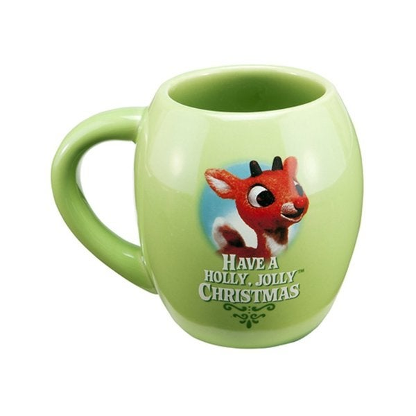 Rudolph The Red-Nosed Reindeer Ceramic Christmas Coffee Mug