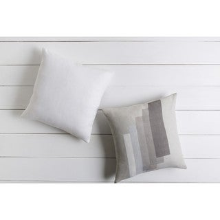 Decorative Alvarado 18-inch Down or Polyester Filled Pillow