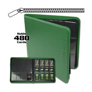12-Pocket Z-Folio LT Green