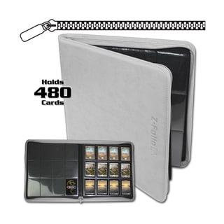 12-Pocket Z-Folio LT White