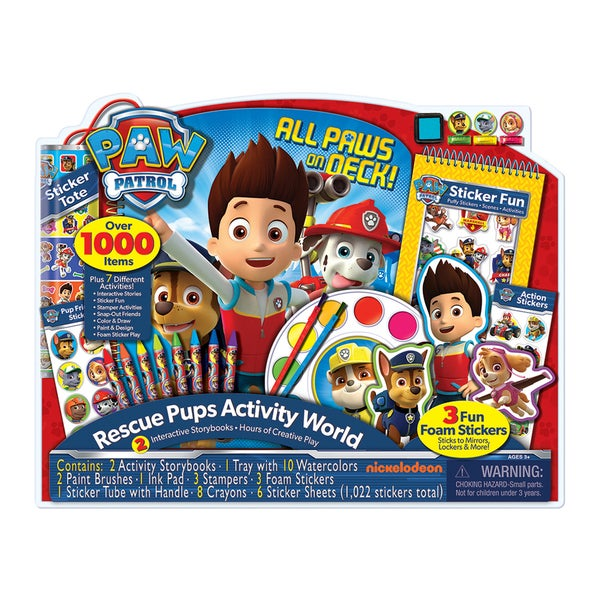 Bendon Nickelodeon Paw Patrol Giant Art Activity Set