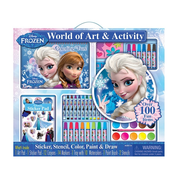 Bendon Disney Frozen Giant Art Activity Set
