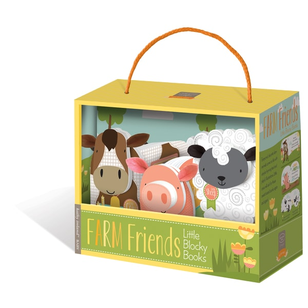 Kathy Ireland Farm Friends Blocky Book Box Set