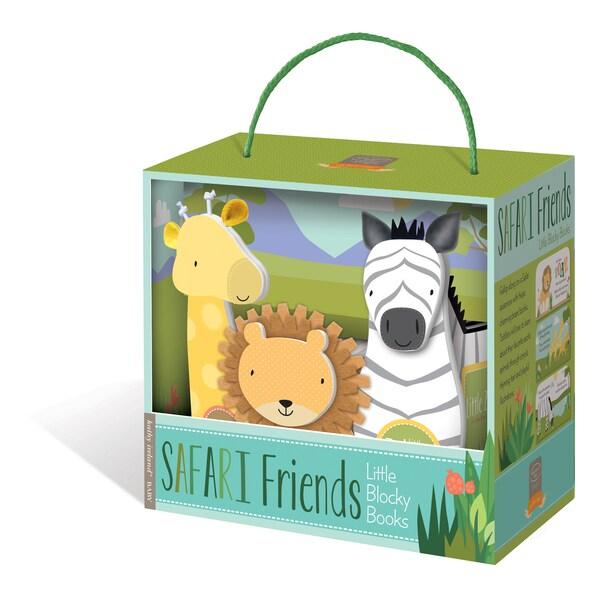 Kathy Ireland Safari Friends Blocky Book Box Set