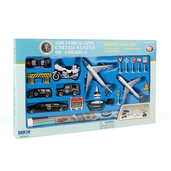 Daron Air Force One Die-Cast Playset - 20 Pieces