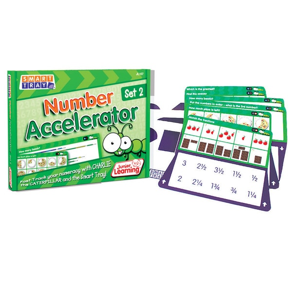 Junior Learning Smart Tray Number Accelerator Set 2 17431875