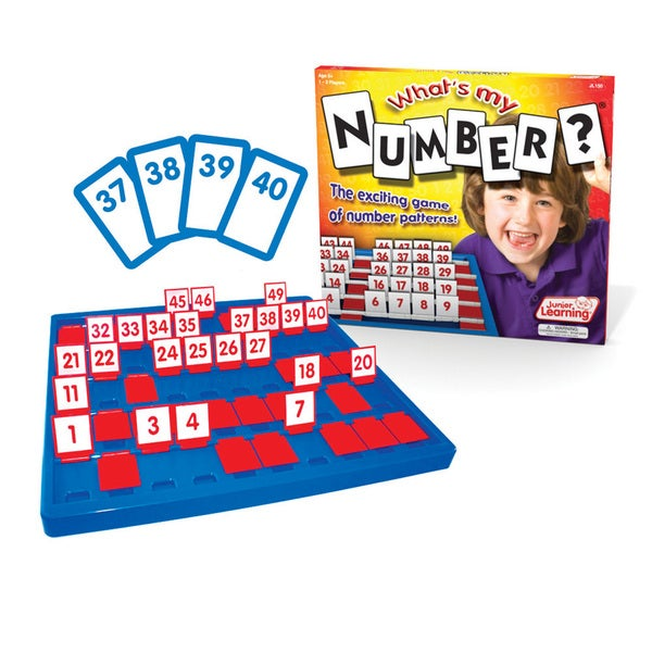 Junior Learning What's My Number? The Exiting Game of Number Patterns!