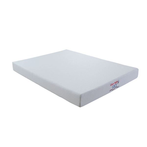 Lucy 6-inch Twin-size Memory Foam Mattress