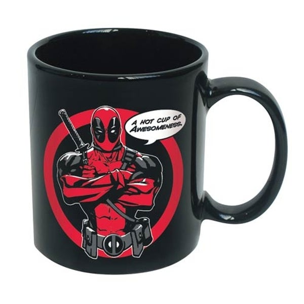 Deadpool A Hot Cup Of Awesomeness X-Men Marvel 12-ounce Coffee Mug