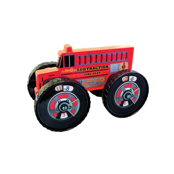 Junior Learning Subtraction Firetruck - A Hands-on Toy for Teaching Subtraction