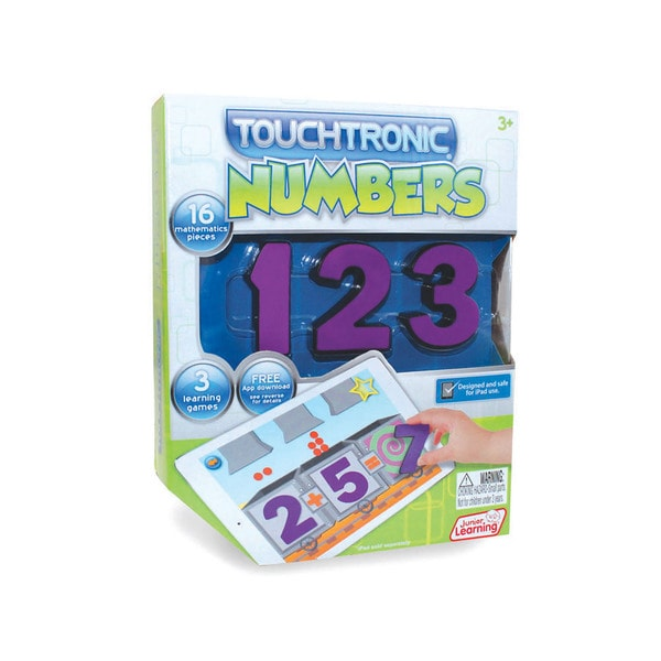 Junior Learning Touchtronic Numbers - Award Winning Interactive Learning Toy for iPad.