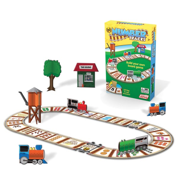 Junior Learning Number Tracks - Build Your Own Board Game