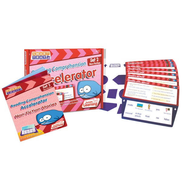 Junior Learning Smart Tray Reading Comprehension Set 2 Non-fiction