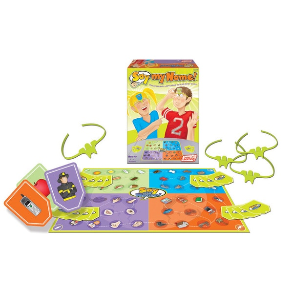 Junior Learning Say My Name! The Speaking, Listening & Memory Game!