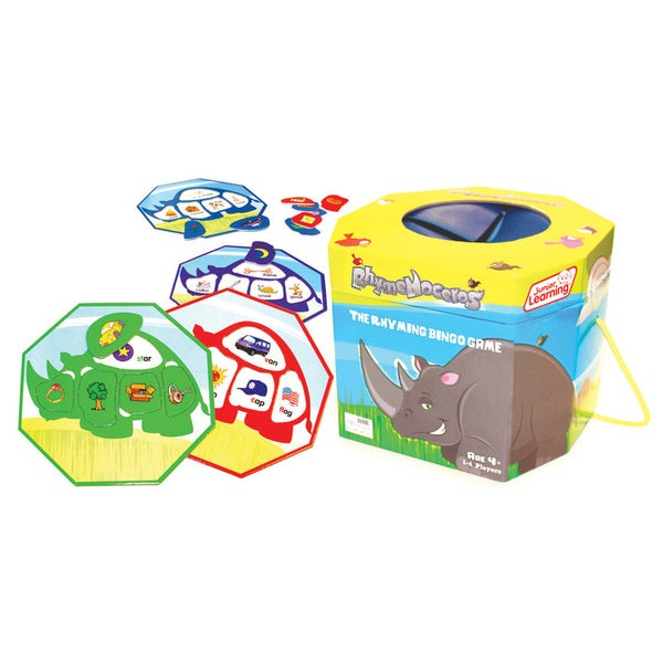 Junior Learning Rhymenoceros - The Rhyming Bingo Game