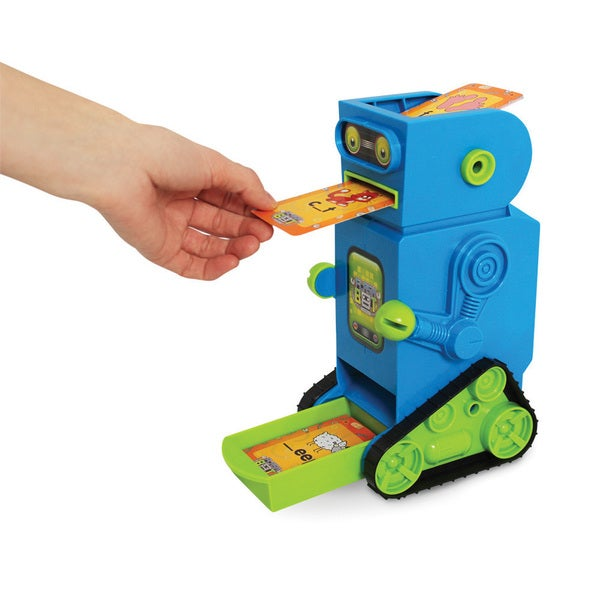 Junior Learning Flashbot Flash Card Robot - Includes 20 Demonstration Flash Cards