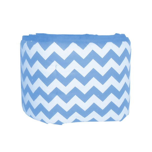 Chevron Mini Crib Bumper