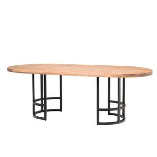 Aurelle Home Vintage Solid Wood Dining Table