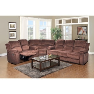 Brown Odessa Reclining Sectional