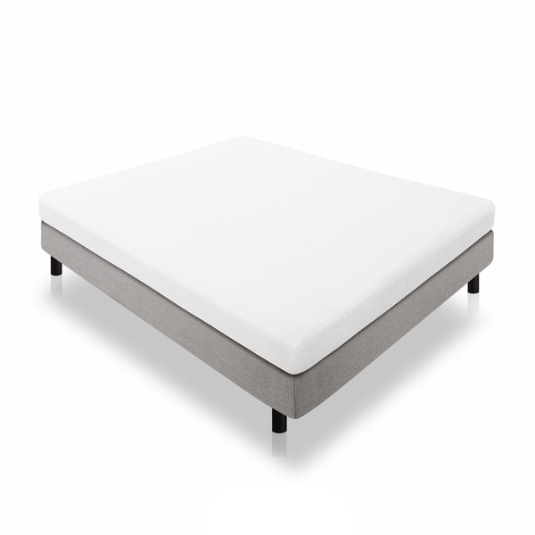 Lucid Dual Layered 5-inch Cal King-size Memory Foam Mattress
