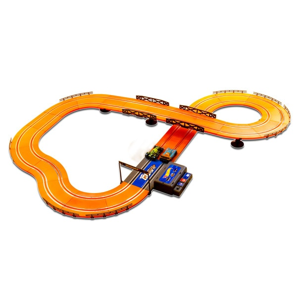Hot Wheels Batter Operated 12.4-foot Slot Track