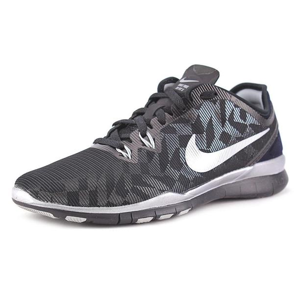 Nike Women's 'Free 5.0 Tr Fit 5 MTLC' Mesh Athletic