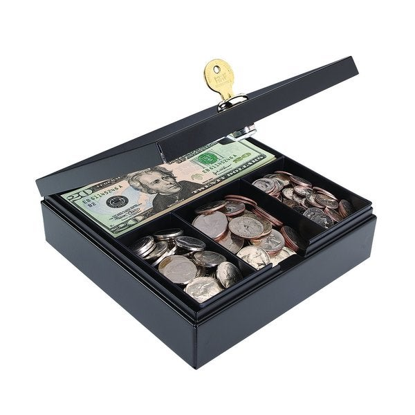 MMF Industries Personal Steel Drawer Safe with Key Lock (227107004) by MMF Industries