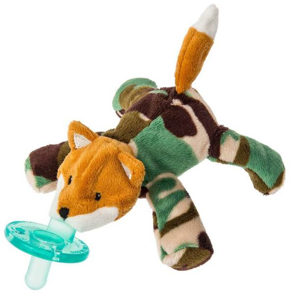 Mary Meyer WubbaNub Infant Pacifier Camo Fox