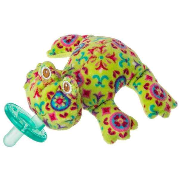 Mary Meyer WubbaNub Infant Pacifier Kiwi Frog 17432636