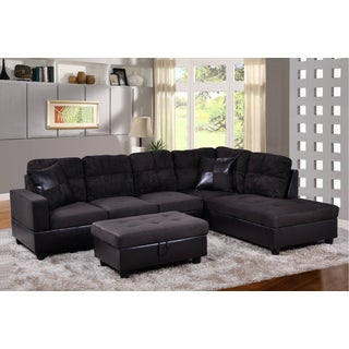 Avellino Dark Chocolate Right Hand Facing Sectional