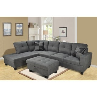Siano Grey Left Hand Facing Sectional