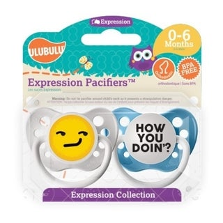 Personalized Pacifiers How you Doin' Emoji 0-6 Months