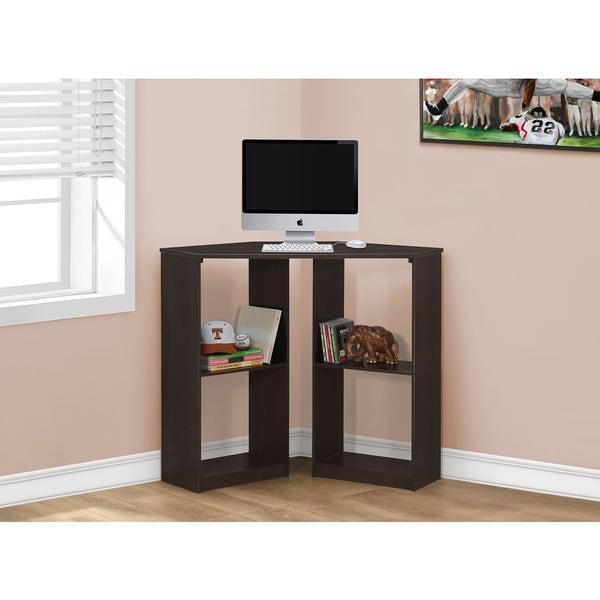 Monarch Cappuccino Corner 36-inch Computer Desk
