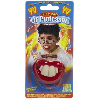Billy Bob Pacifiers Lil Professor Pacifier