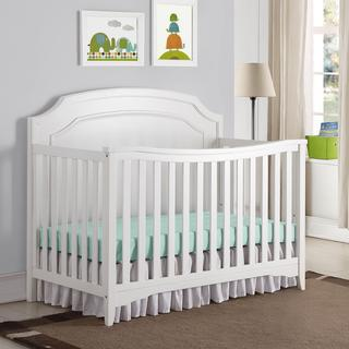 Baby Relax Lakeley White 4 in 1 Convertible Crib