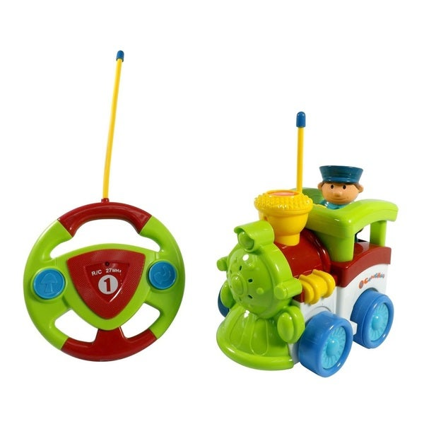 Cartoon Series Toddler Green R/C Radio Control Train